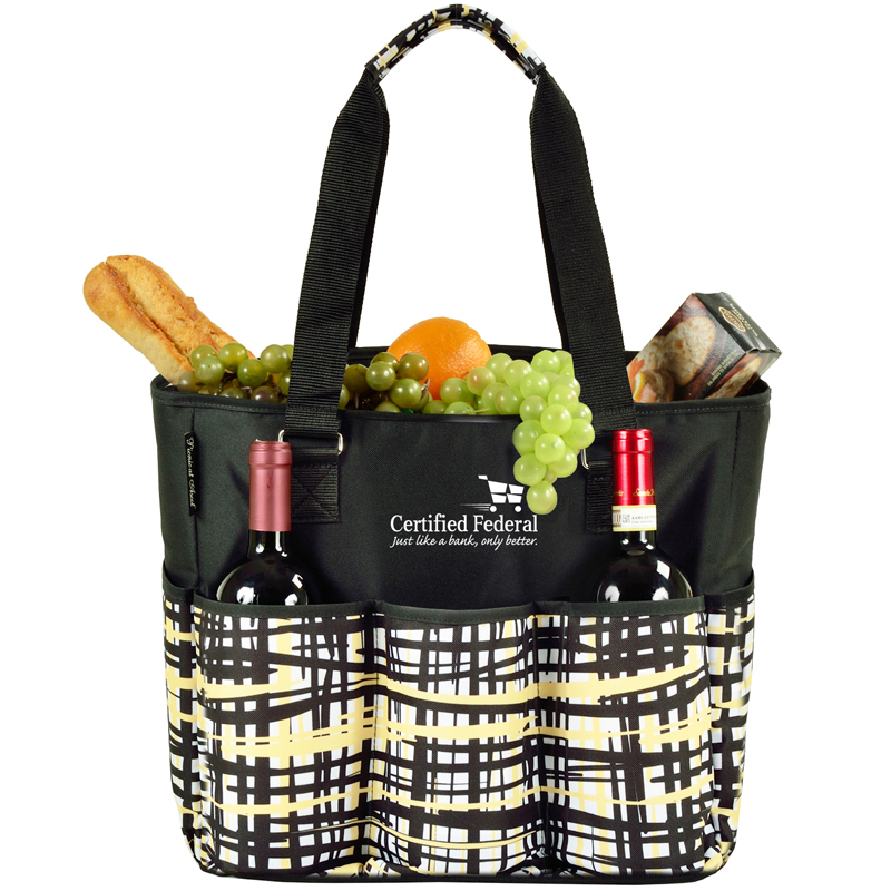Multi Pocket Large Cooler Tote