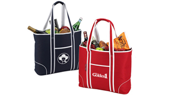 Extra Large Insulated Cooler Tote - 30 Cans