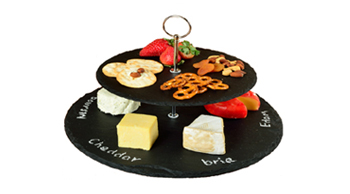 Serat Two Layer Slate Cheese Board